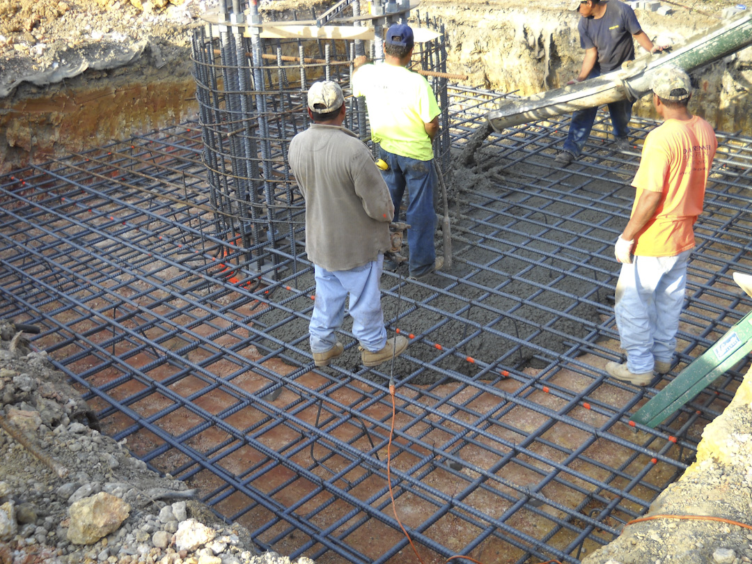 Slab foundation design